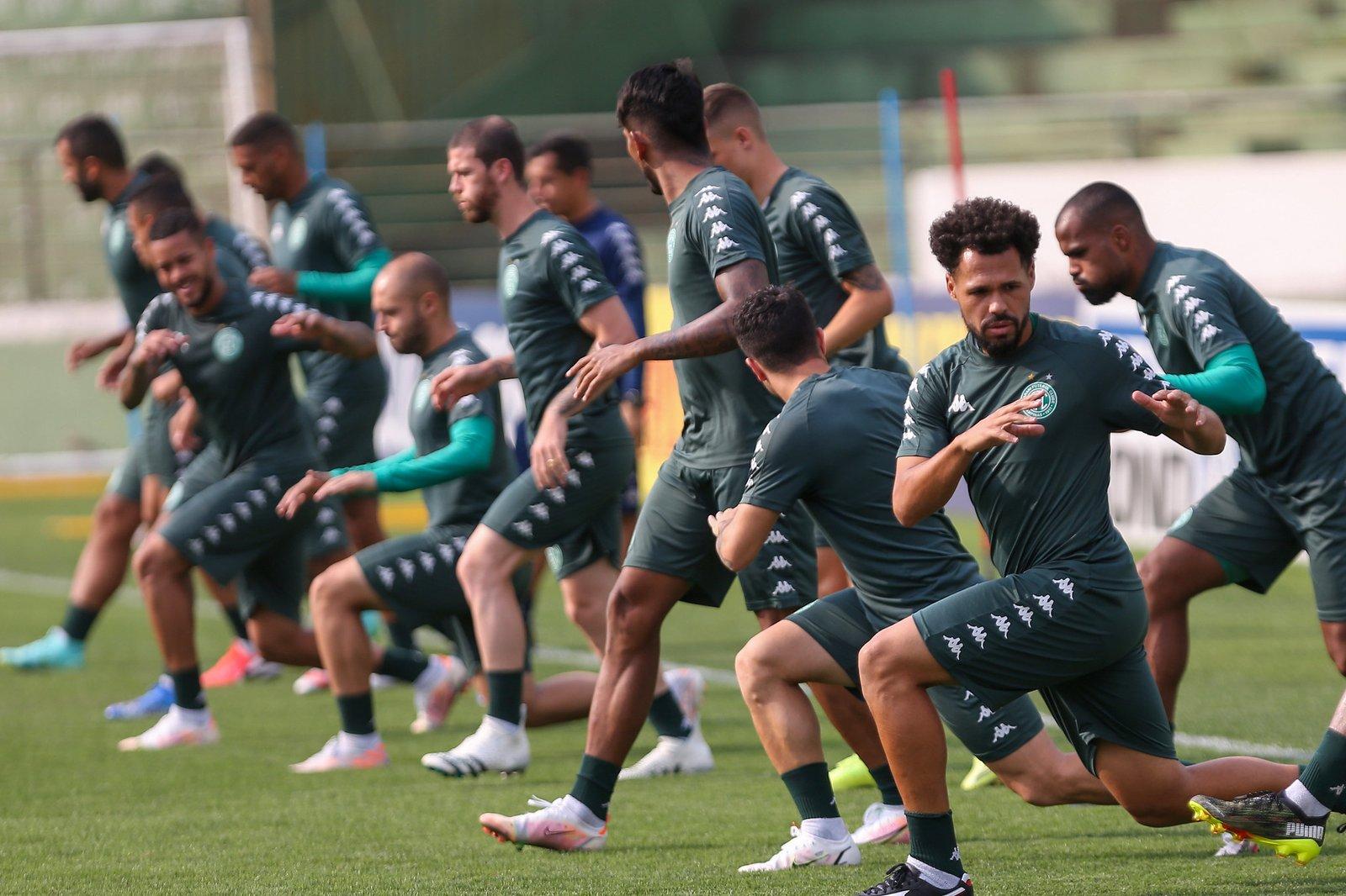 Pronto, Guarani treina e se concentra para o Dérbi 201